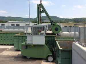 Installation rouleau compacteur Roll Packer Mobile